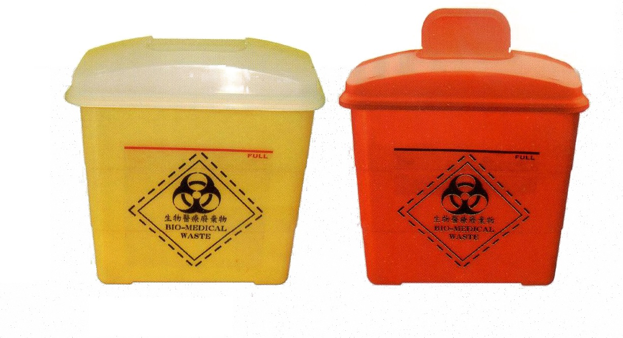 Deposable Box for Medical Wastes 3L
